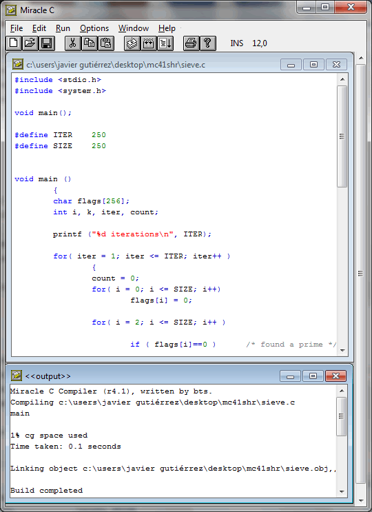 Miracle C Compiler