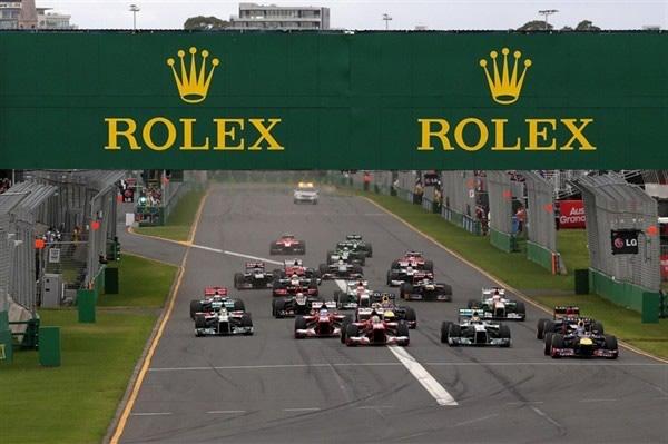 Los relojes de la Fórmula 1
