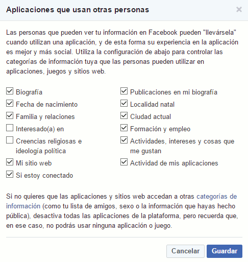 Los fallos en la privacidad de Facebook