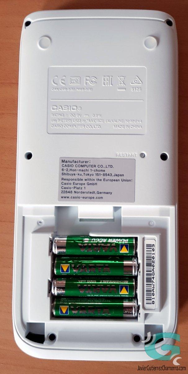 Casio fx-CG50 (Primeras impresiones)