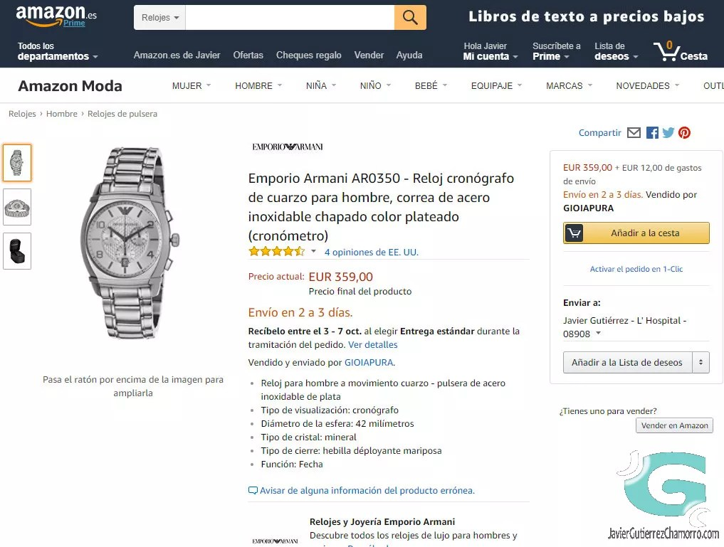 Descuentos increíbles en relojes