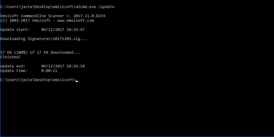 Antivirus Emsisoft gratis