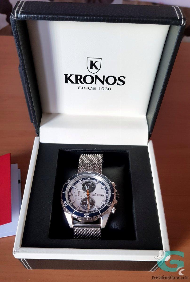 Kronos Sport Q Racing Chronograph Silver