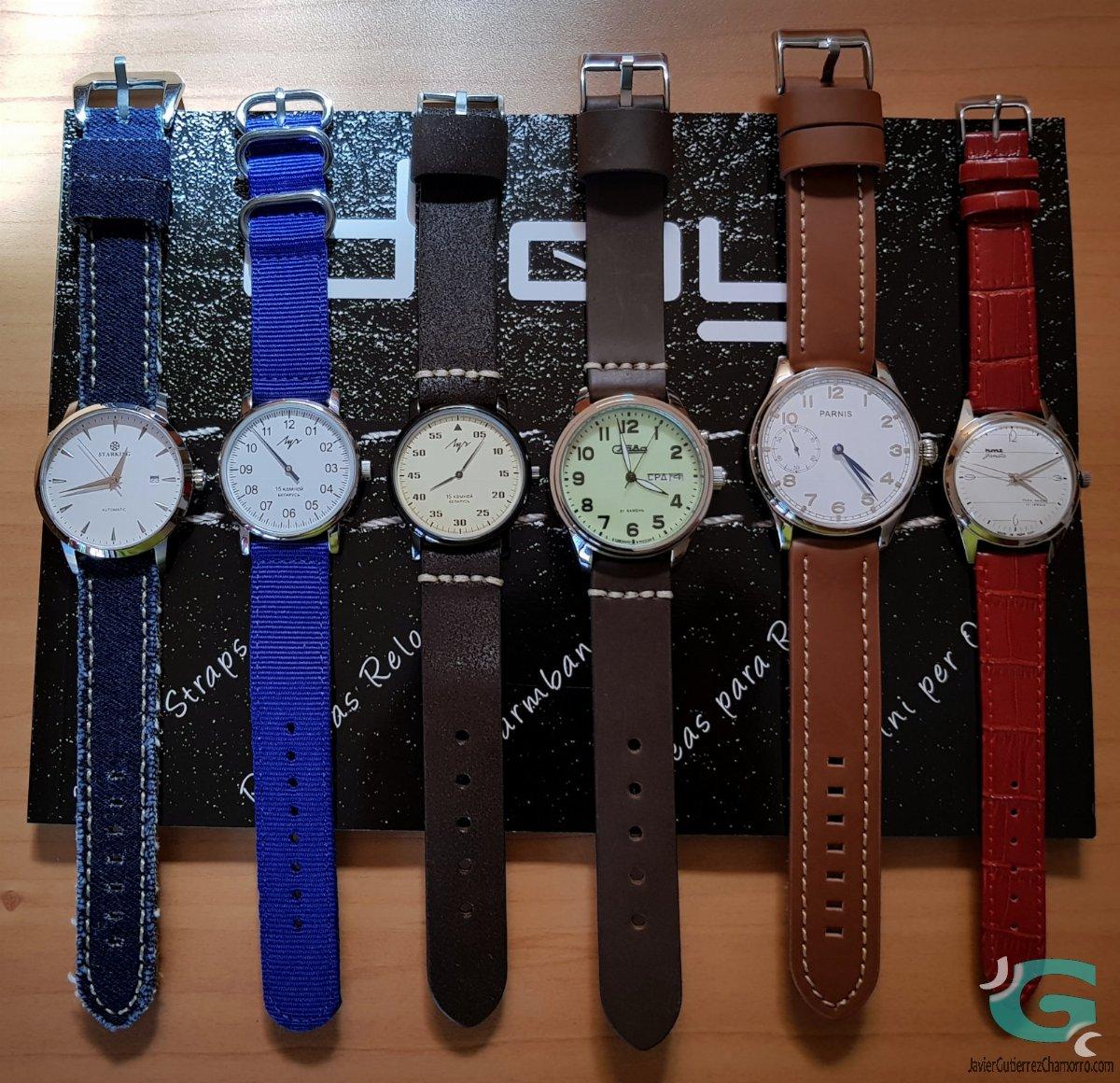 97cef45e41ec Correas de reloj Diloy