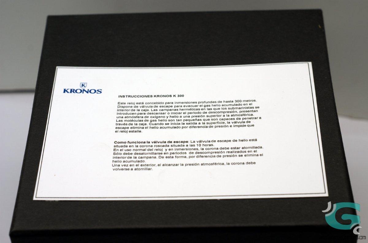 Kronos K300 Automatic Blue