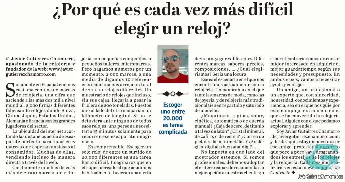 Revista Contraste (I)