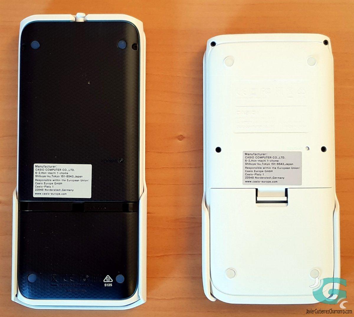 Casio ClassPad fx-CP400 y Casio fx-CG50 frente a frente (y conclusiones)