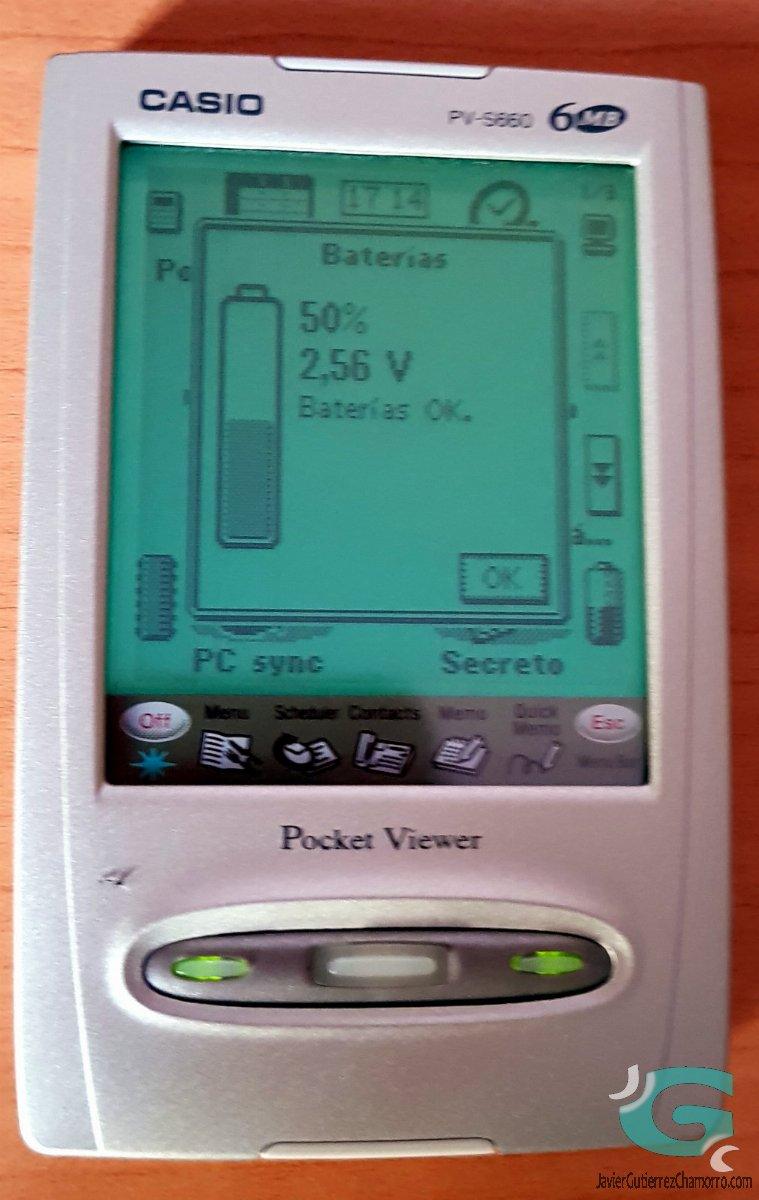 Casio PV-S660 Pocket Viewer (Introducción)