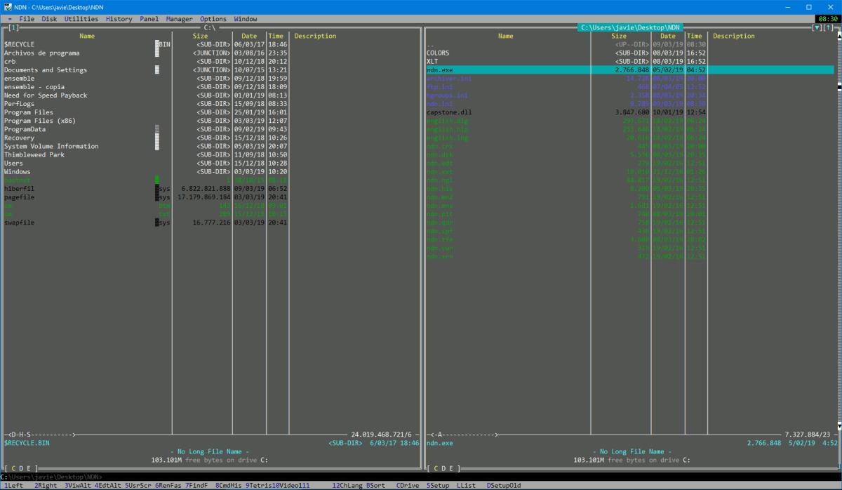 Necromancer's DOS Navigator