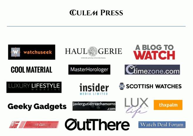 Mis reviews de relojes en los medios