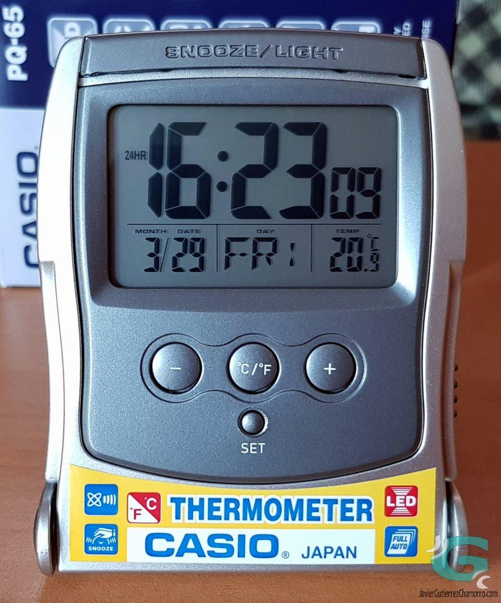 Despertador de viaje Casio PQ-65