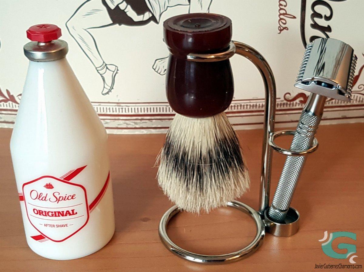 El hábito del afeitado clásico