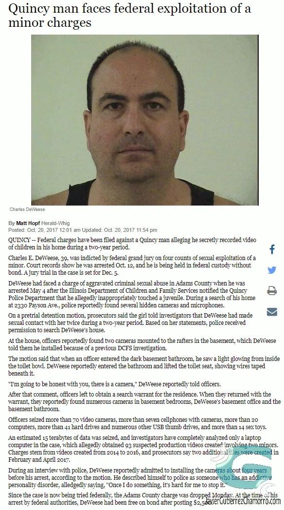 Charles DeWeese el autor de FlashFXP encarcelado por delito sexual