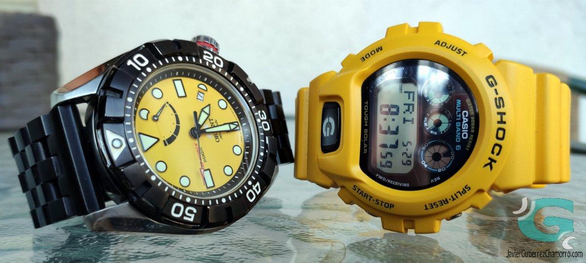 Dos relojes con cosas en común