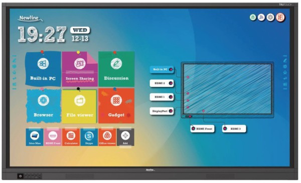 Nota de prensa: Ventajas de las pantallas interactivas
