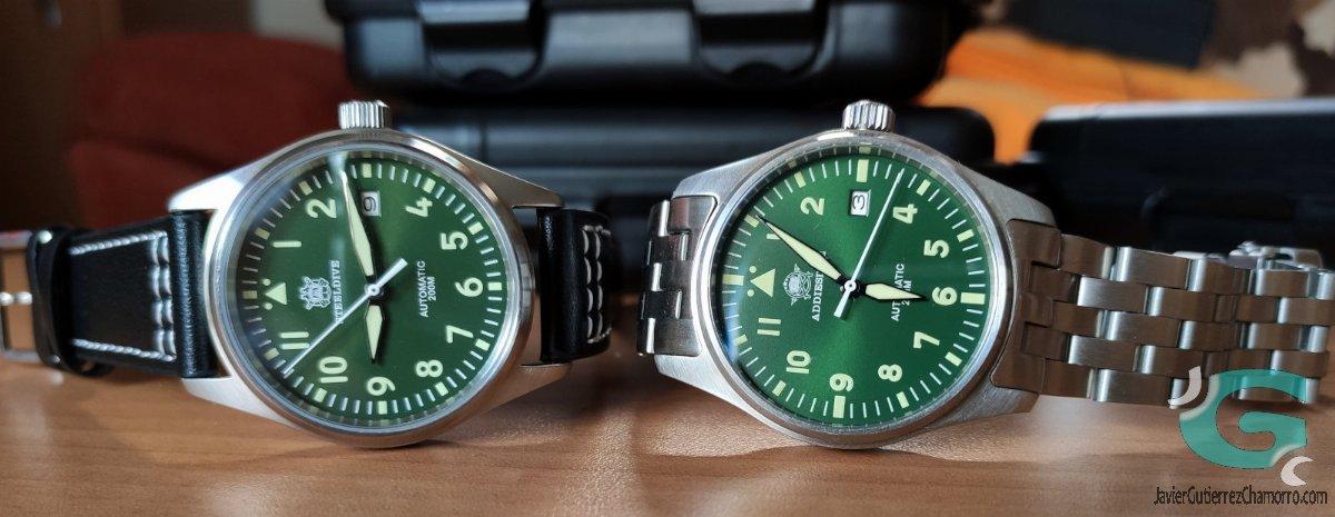 ¿Por qué tengo 4 relojes Steeldive en lugar de 2?