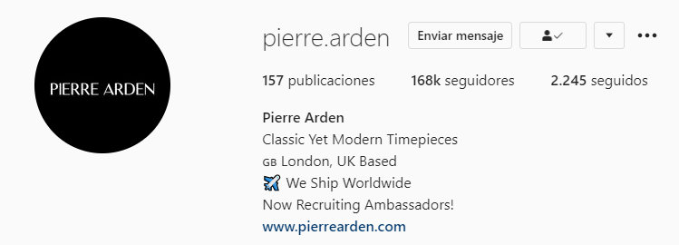 Las tácticas de venta de Pierre Arden