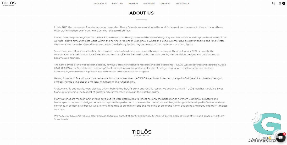 Tidlös Scandinavia y como construir un mito (falso)