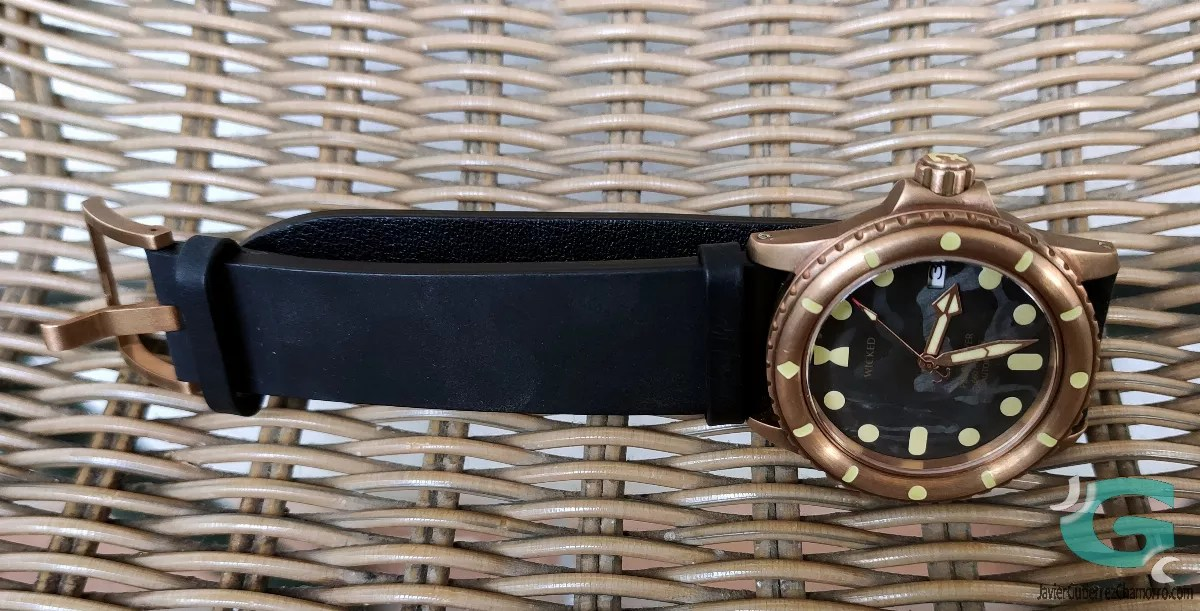 Wicked Watch Co. Pearl Diver (Prototipo)