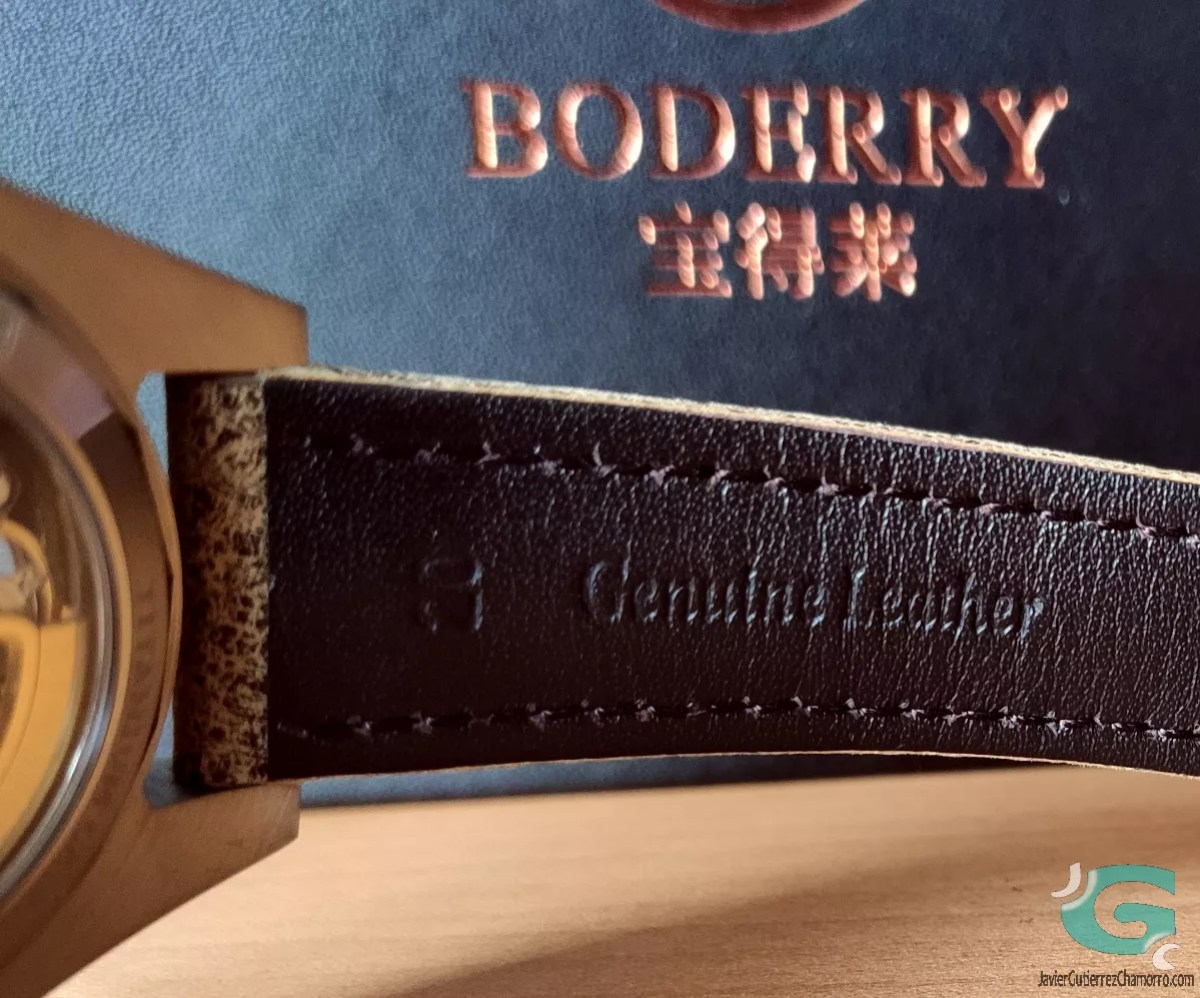 Boderry Urban Skeleton Series Titanium BDA001T