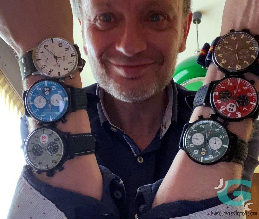 Entrevista a Víctor Vicente Goñi Vall de Aëroluft Watch Company