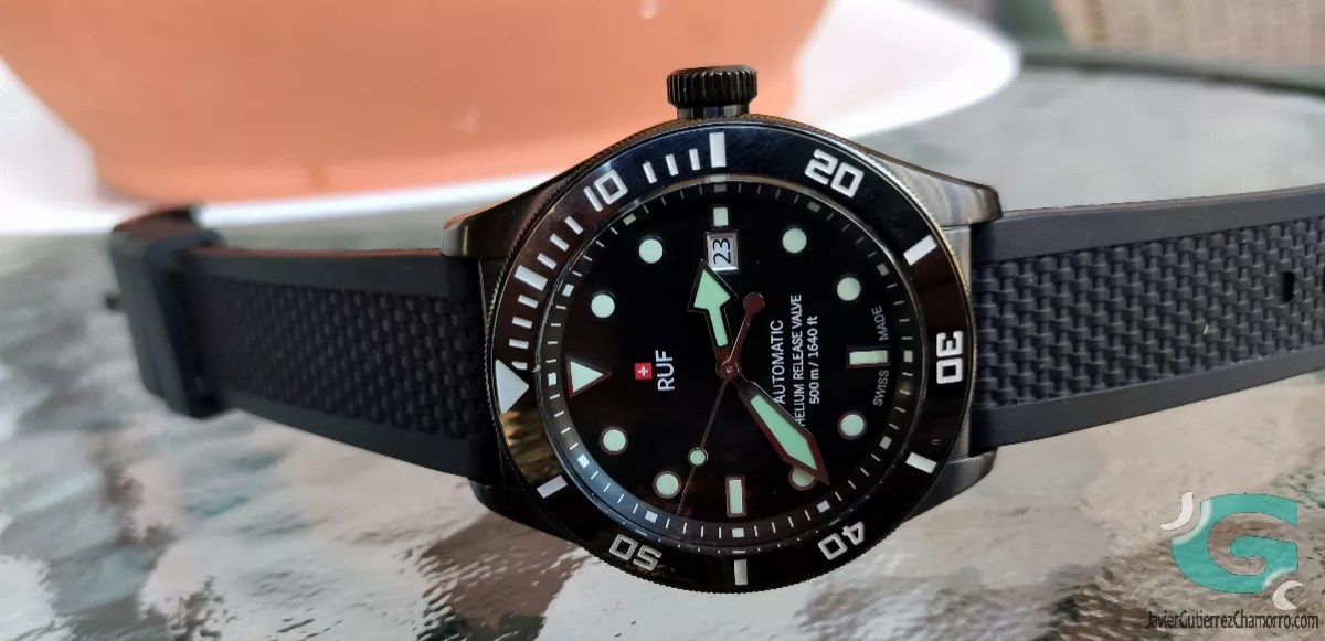 RUF500 Diver Automatic Black PVD/BLR (Preserie)