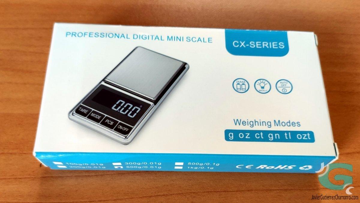 Balanza digital CX-Series
