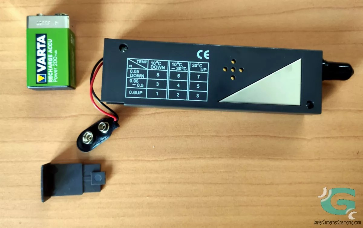 Diamond Selector II: Detector de cristales de zafiro