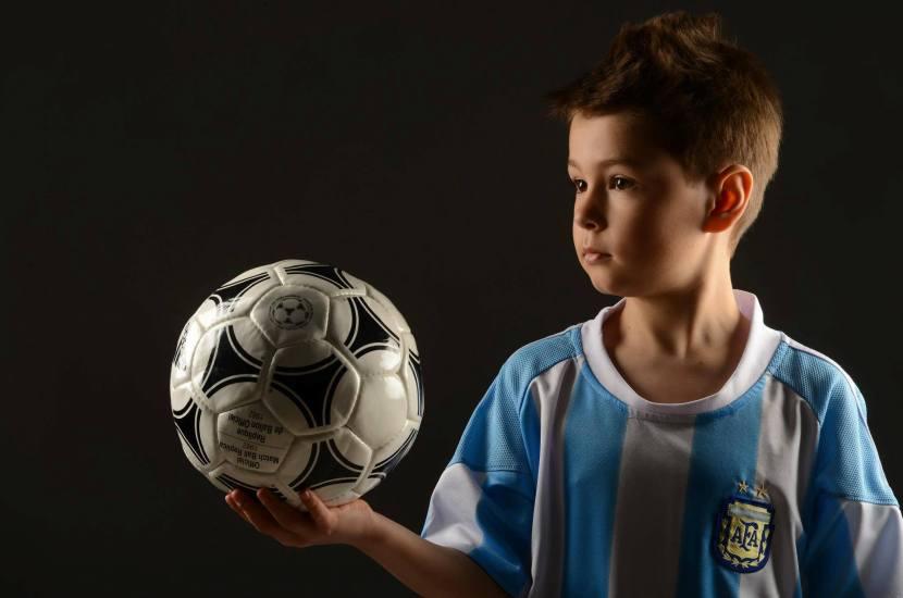 El entorno de un niño futbolista