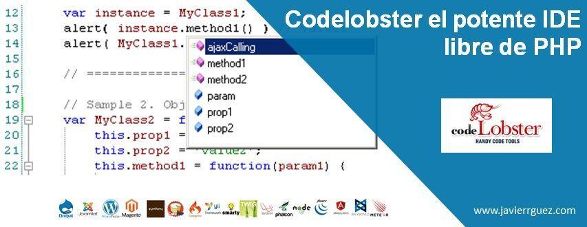 Codelobster el potente IDE libre de PHP con especiales plugins para los frameworks más populares