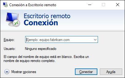 Habilitar Escritorio Remoto de Windows