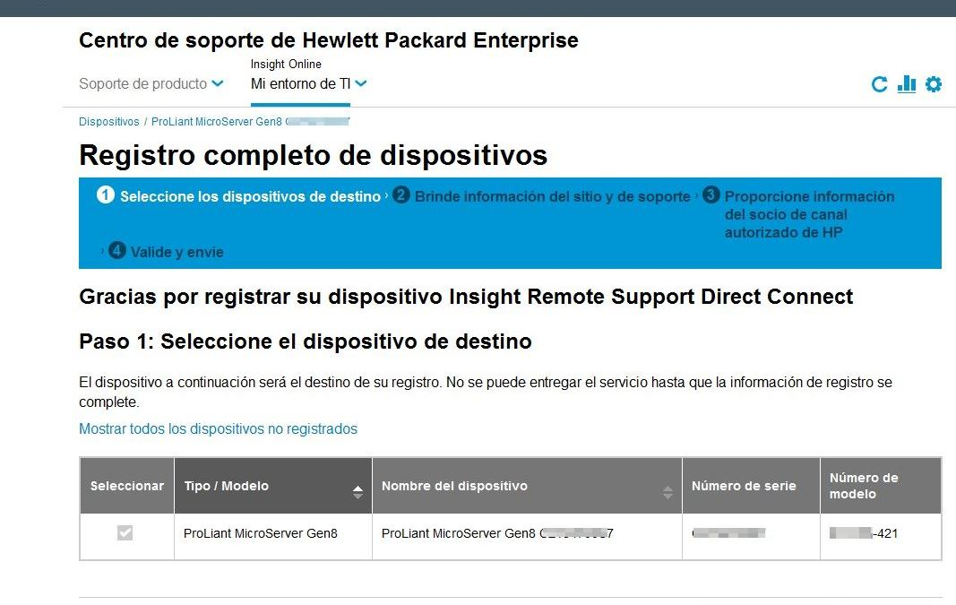 Registro en HP Passport
