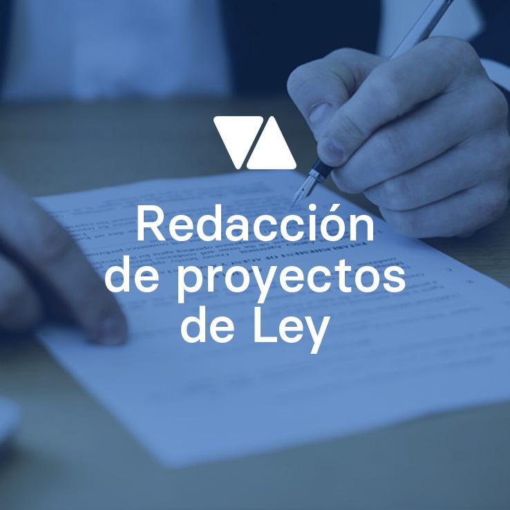 Redacción de paquetes legislativos o instrucciones