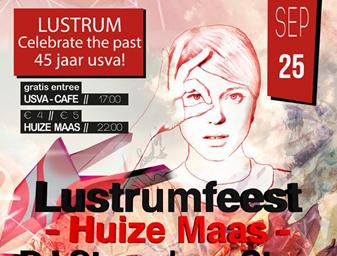 USVA Lustrum Poster
