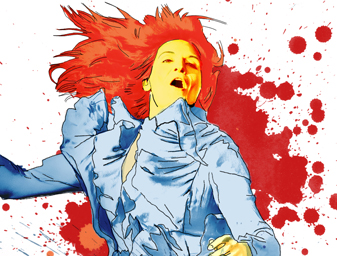 Florence and The machine Illustration
