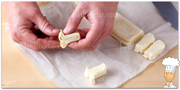 Como cortar y doblar palmeritas