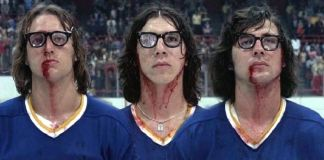 """Los hermanos Hanson en """"El Castañazo"""" (""""Slap Shot"""", George Roy Hill, 1977)"""