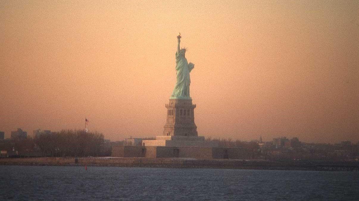 Estatua de la Libertad (Ellis Island, Nueva York). Ya queda menos para que nos vayamos
