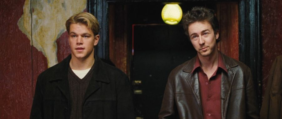Matt Damon y Edward Norton en