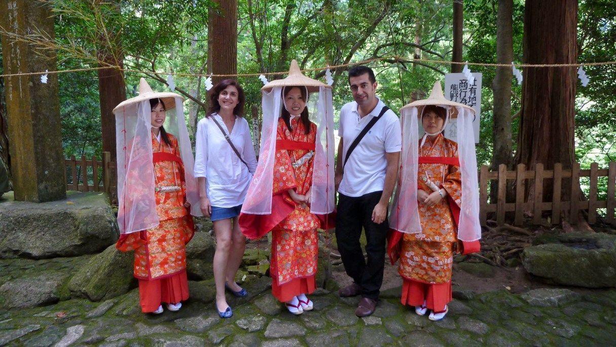 Por la ruta Kumano Kodo (Wakayama, Japón). 14 de julio de 2011