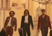 "Antonio Banderas y Enrique Iglesias en ""El Mexicano"" (""Once Upon a Time in Mexico"")"