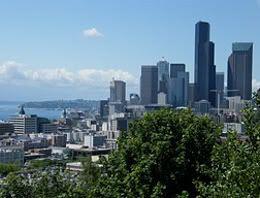 el nuevo downtown Seattle