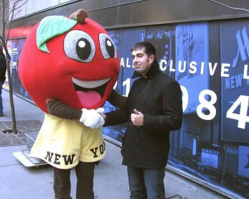 Saludando a la Gran Manzana