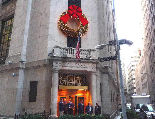 Wall Street y el fantasma de las navidades pasadas