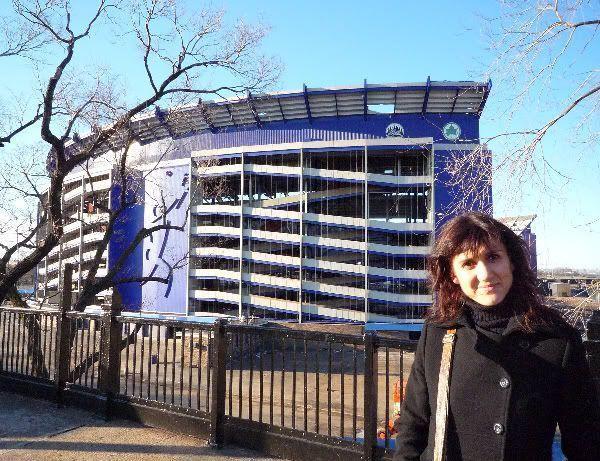 Shea Stadium, actualmente en demolición