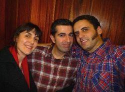 Con Jairo Zavala, autor de la