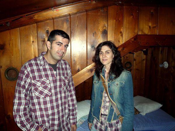 Nosotros en la habitación de Kurt Cobain en Montesano (Washington)