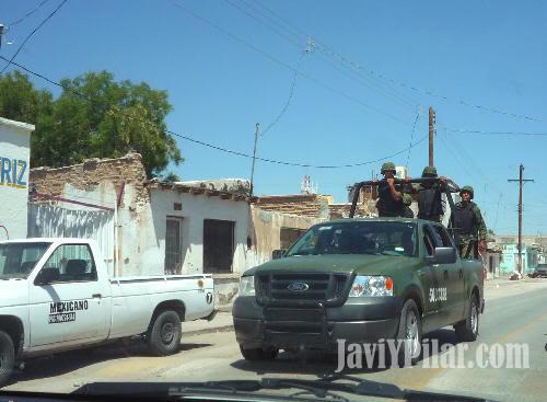 Imagen de Ciudad Juárez tomada por nosotros en el verano de 2009