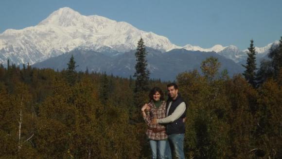 Con el monte McKinley a nuestras espaldas