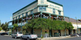 Hotel Jeffery (Coulterville, California) en el verano de 2012